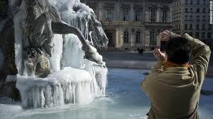 Frozen in Winter