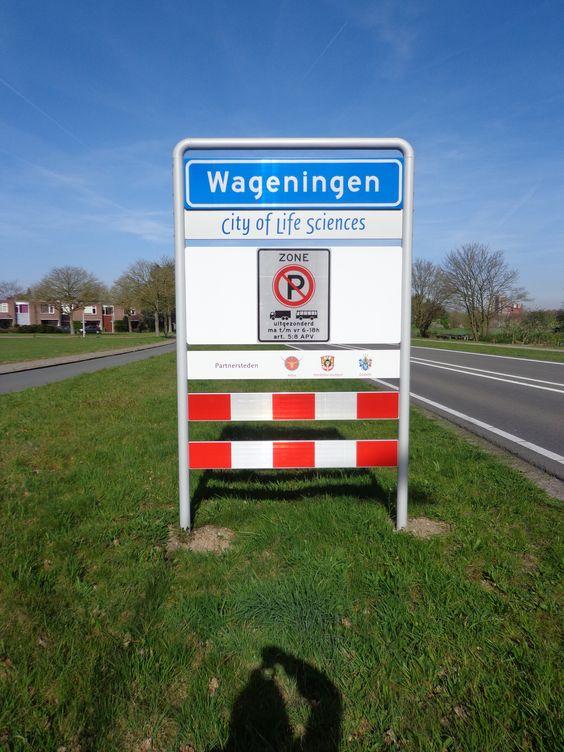 Wageningen, bord - S. van Soest | Wageningen | Pinterest | Van