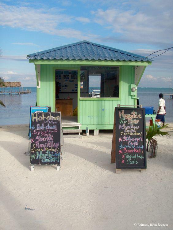 Caye Caulker, Belize: Go Slow // Brittany from Boston