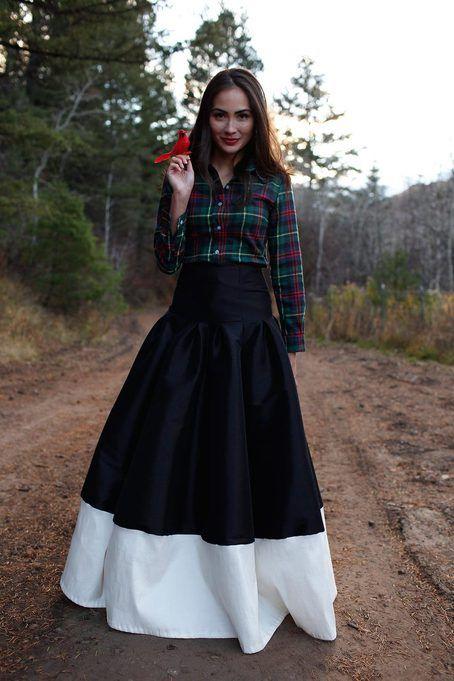 Leah Dress Maroon | Dress skirt, Beautiful and Plaid