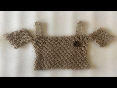 ad974c106 Blusa con Vuelos en Crochet - Tejidos Mujer - YouTube