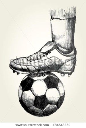 Playing Skilled Soccer One Of The Best Sports In The World Is Soccer Also Referred To As Football In Numerous Cou Soccer Art Sports Drawings Football Drawing
