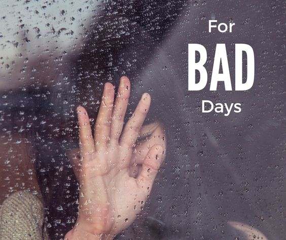 For bad days | A Voyage of Greys