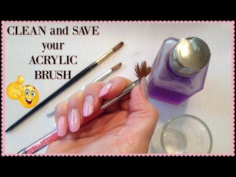 Ex Kolinsky Acrylic Nail Brush Crimped Ebay Acrylic Nail Brush Nail Brushes Diy Acrylic Nails