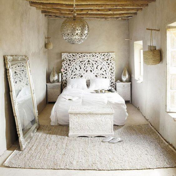 nice Scandinavian White Interiors with an Indian Twist - Nomadic Decorator