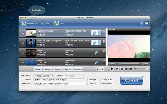 「Super MP3 変換」無料セール中! ー 音源ファイルフォーマット変換アプリ
