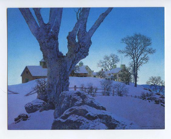 maxfield parrish snow - Google Search