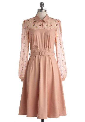 1930s Style Dresses &amp Clothing  Vintage inspired Pastel and Sleeve