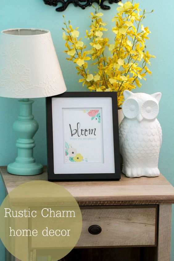 And More Rustic Charm Charms Rustic Home Decor Decor Home Spring Ideas