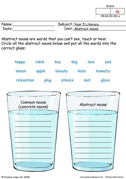 Abstract Nouns Worksheet 3rd Grade Printable Worksheets Are A Precious School Room Tool They No Lon In 2021 Abstract Nouns Nouns Worksheet Nouns Worksheet 2nd Grade Nouns worksheet 3rd grade