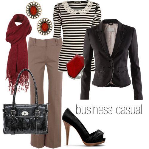 Fall work wardrobe