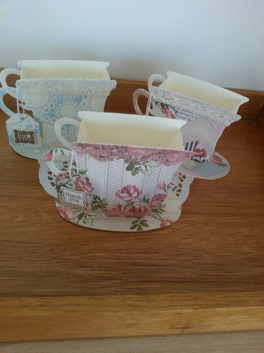 004 Tea cups, Paper and Cups on Pinterest