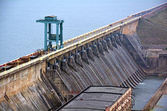 Location of Longest Dam in India: Hirakud Dam