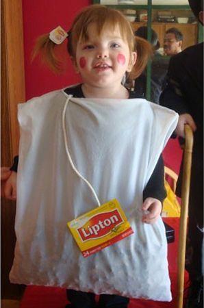 Sachet de thé ! - Les meilleures idées deguisements pour enfants ! - Diaporamas Fêtes ! - Momes.net: