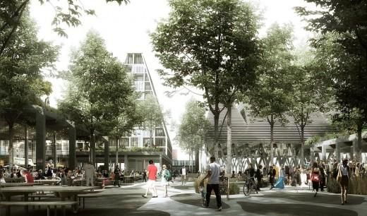 Pocket: Masterplan for Christiansholm Island in Copenhagen