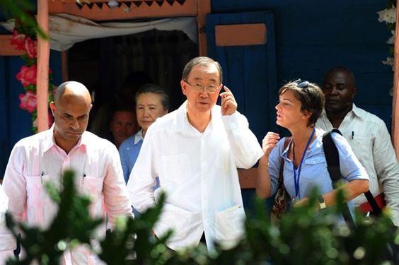 Ban Ki-moon preocupado por la crisis política en Haití