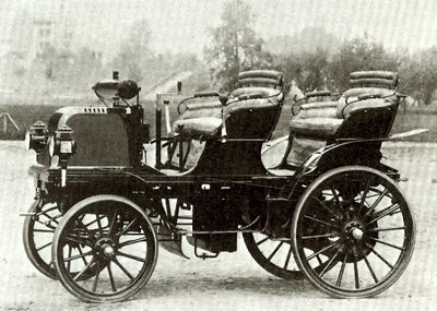 1883 Daimler--one of the first.  We should be thankful to Gottlieb Daimler for his fabulous cars ════════════════════════════ http://www.alittlemarket.com/boutique/gaby_feerie-132444.html ☞ Gαвy-Féerιe ѕυr ALιттleMαrĸeт   https://www.etsy.com/shop/frenchjewelryvintage?ref=l2-shopheader-name ☞ FrenchJewelryVintage on Etsy http://gabyfeeriefr.tumblr.com/archive ☞ Bijoux / Jewelry sur Tumblr