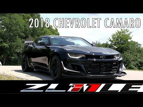 2018 Chevrolet Camaro Zl1 1le With Start Up Rev Overview Dan