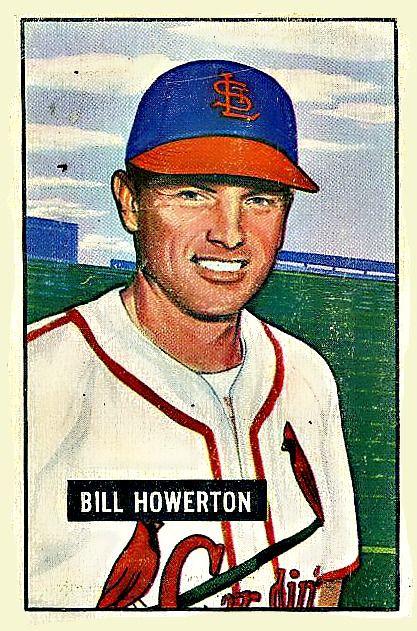 229 - Bill Howerton - St. Louis Cardinals