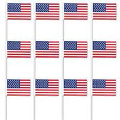 Small American Flags Value Pack 12ct