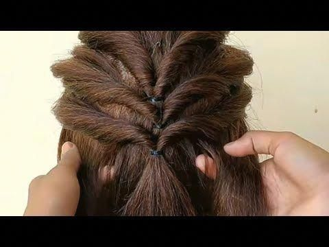 Easy And Simple Hairstyle For Girls Beautiful Hairstyles Tutorials Subscribe To My Cha Girls Hairstyles Easy Wedding Hairstyles Tutorial Easy Hairstyle Video