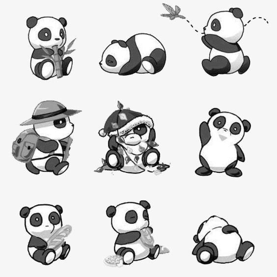 Large Collection Panda Panda Clipart Panda Png Transparent Clipart Image And Psd File For Free Download Panda Tattoo Cute Panda Drawing Panda Art