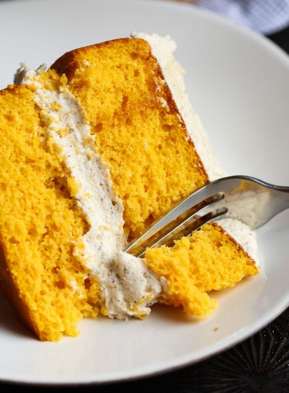 Maple frosting, Pumpkin cakes and Frostings on Pinterest
