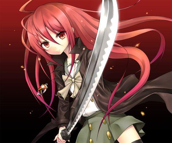 anime girl hair red - Pesquisa Google