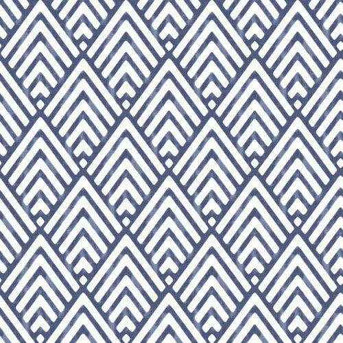 Castle Crane Nuwallpaper 30 75 Sq Ft Blue Vinyl Geometric Self Adhesive Peel And Stick Wallpaper Lowes Com In 2021 Peel And Stick Wallpaper Blue Geometric Wallpaper Nuwallpaper