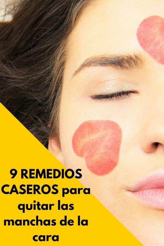 remedios para manchas de la cara
