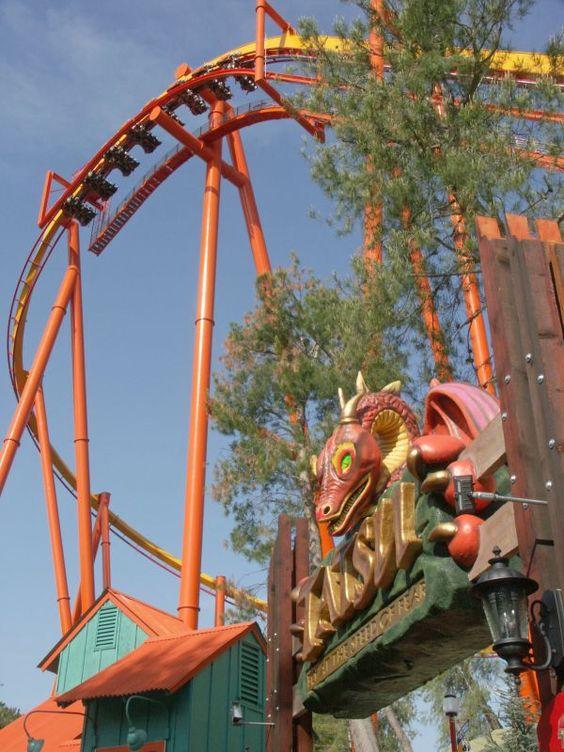 Tatsu | Six Flags Magic Mountain | USA | Coasters USA ...
