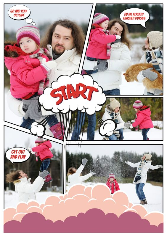 Make an interesting #comic with your own photos at www.fotojet.com