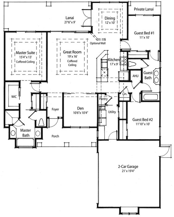 Smart House Southern Greens And House Plans On Pinterest