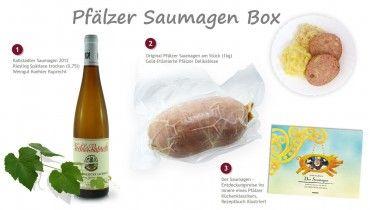 Pfälzer Saumagen Box - Pfalz Korb  - Pfälzer Geschenkbox