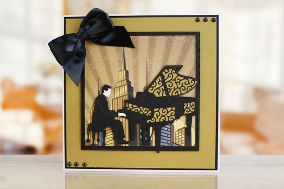 Art Deco Collection by Tattered Lace   For more information visit: www.tatteredlace.co.uk
