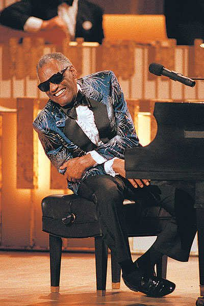 """The Great Ray Charles    """"What'd I Say I & II"""" - """"Careless love"""" - """"I Got a Woman""""  - """"You Don't Know Me"""" - """"Georgia On My Mind"""", """"Night Time is the Right Time"""""""