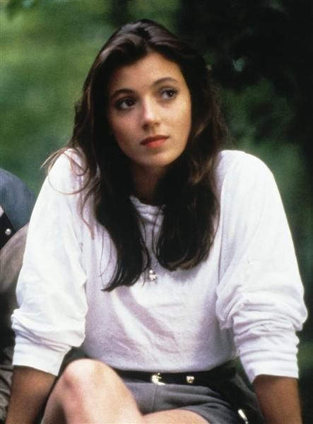 "Mia Sara got her feet wet playing a leading lady in ""Legend"" opposite Tom Cruise. But it was playing Ferris Bueller's girlfriend, Sloane Peterson, in ""Ferris Bueller's Day Off"" that really put her on the map."