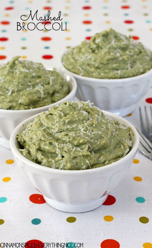 Mashed Broccoli with Ricotta, Parmesan and Garlic | Recipe ...