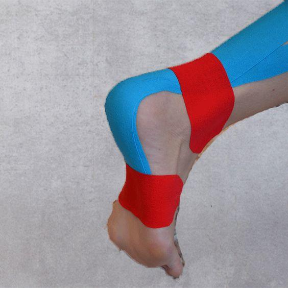 Kinesiologietape Achillessehne