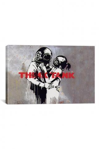 Banksy Canvas On Sale at JackThreads - Crisp CultureCrisp Culture