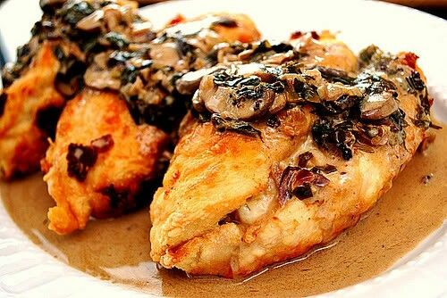 Stuffed Chicken Marsala Recipe Adapted From Olive Garden