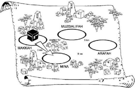 Activity Worksheets For Hajj Google Search Islam Hajj Coloring Pages