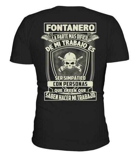 Fontanero Fontanero Tshirt Shirts Jobsundberufeshirts T Shirt