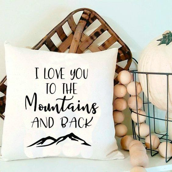 I Love You To The Mountains and Back love valentine valentine's day camper happy camper camping cabin decor SVG and DXF EPS Cut File • Cricut • SilhouettePng • Download File • Printable Cricut Projects• Silhouette Project Ideas By Kristin Amanda Designs