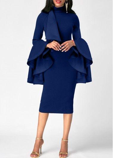 Back Slit Lace Patchwork Sheath Dress | Rotita.com - USD $30.63
