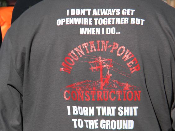 Burn it to the ground baby!