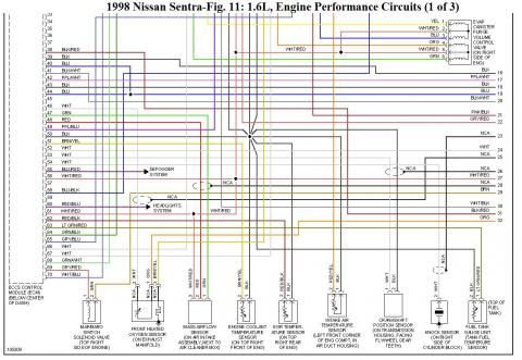 Ecu Pinout Del Nissan Ga16de Ga16dne Diagramas Electricos