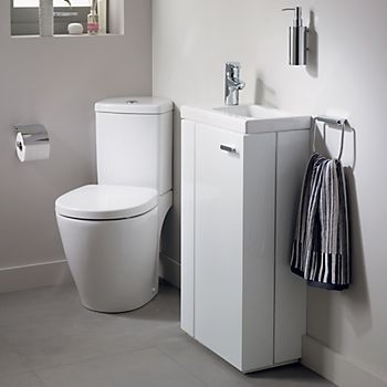 Awesome Small Bathroom Remodel Ideas Corner Toilet Small Bathroom Cloakroom