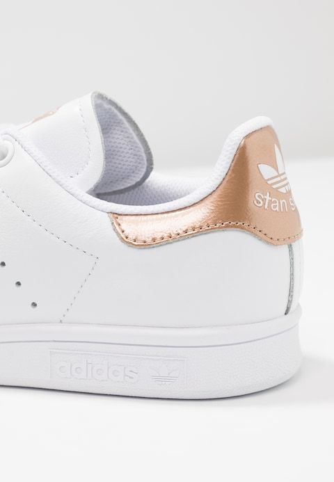 STAN SMITH - Baskets basses - footwear white/rose gold ...