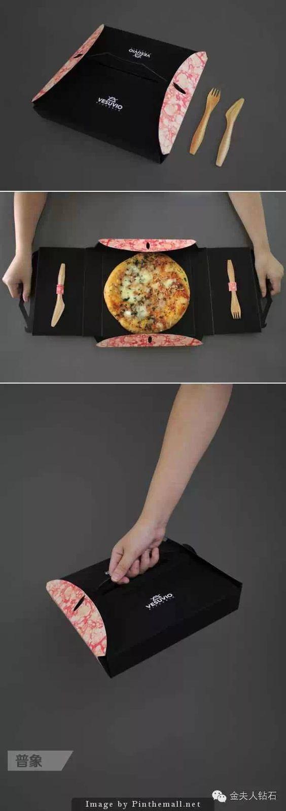 Pizza para viagem com a praticidade de poder sentar em qualquer lugar e comer?…
